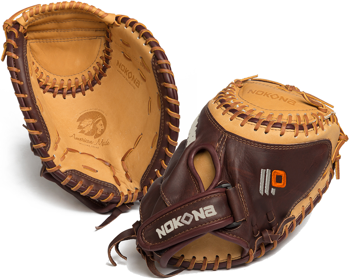 Nokona Alpha Select Fastpitch Catchers Mitt