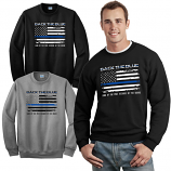 Back The Blue Crewneck Sweatshirt