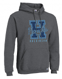 Hockinson HS Hood with Varsity II printed logo