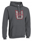 Union HS Hood with Varsity II printed logo