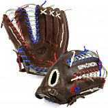 Nokona X2-7POP Red White and Blue Kangaroo Elite 12.50""